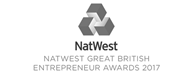 Natwest Great British Entrepreneur Award Innovation Winner